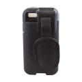 Rugged Case accessory for Linea Pro 5 1D with magstripe reader covered rear view CS-R-LP51D-STR-G-BK
