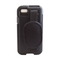 Rugged Case accessory for Linea Pro 5 1D with magstripe reader slot open back view CS-RMS-LP51D-STR-G-BK