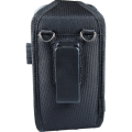 Closed Top Holster accessory with Shoulder Strap for Linea Pro 5 with Rugged Case - rear view with shoulder strap removed HOL-LP5-C-W-SHL