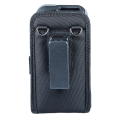 Open Top Holster with Shoulder Strap for Linea Pro 5 with Rugged Case rear view with strap removed HOL-LP5-O-W-SHL