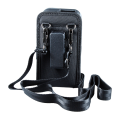 Open Top Holster with Shoulder Strap for Linea Pro 5 with Rugged Case rear view HOL-LP5-O-W-SHL