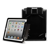 CS-T4L Lightweight Case For Infinea Tab 4 for iPad 4 barcode scanner front and rear views
