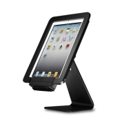 ST-SEC black security stand for Infinea Tab 4 with scanner vertical position