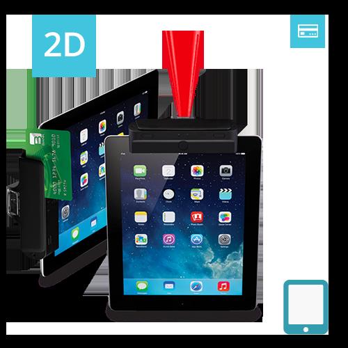 IT4-N2D Infinea Tab 4 2D barcode scanner magstripe reader