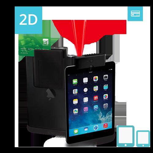 ITM-02D Infinea Tab M 2D barcode scanner iPad magstripe reader