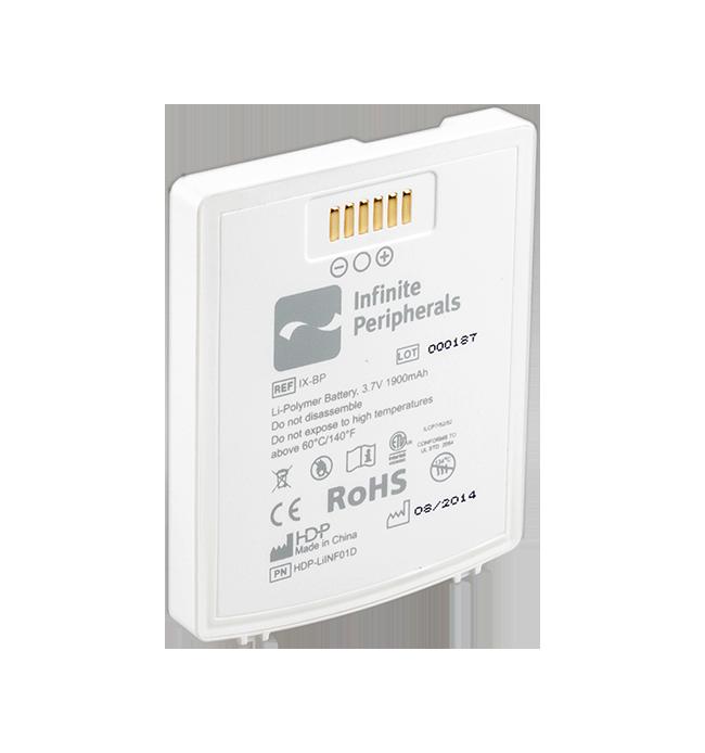 Infinea X Standard (1900 mAh) Battery Pack - White (IIX-BP-STD-WH-M)