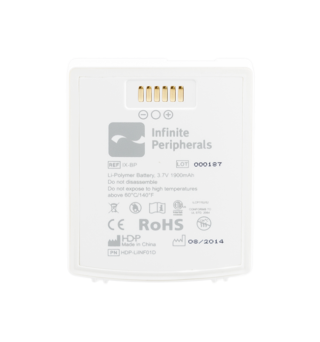 Infinite Peripherals Standard Battery Pack for Infinea X in White