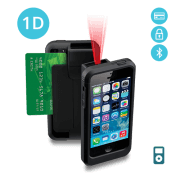LP5-BTE-POD5 Linea Pro 5 1D Barcode Scanner for iPod Touch 5 and 6 with Bluetooth and Encrypted Magstripe Reader