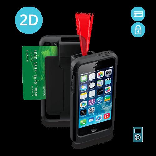 6e41b2f8c8a Linea Pro 5 iPod Touch 5th / 6th / 7th Gen 2D Barcode Scanner – Encrypted  MSR (LP5-N2DE-POD5)