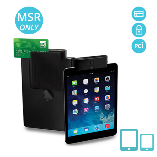 iTM-S-MS Infinea Tab M for iPad magnetic stripe reader and PCI compliance