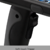 CS-LP5-PG Apto Pistol grip for Linea Pro 5 barcode scanner trigger close-up