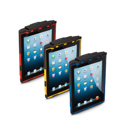 Customizable protective cases for Infinea Tab 4 for iPad 4 barcode scanners