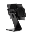 Secure iPad Stand for Infinea Tab M barcode scanner for iPad Air black colour including device back view - ST-SEC-AIR-B