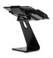 Secure Desktop Stand for Infinea Tab M barcode scanner for iPad Air black colour including device flipped - ST-SEC-AIR-B