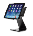 Secure iPad Stand for Infinea Tab M barcode scanner for iPad Air black colour including device horizontal - ST-SEC-AIR-B
