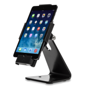 Secure Desktop Stand for Infinea Tab M barcode scanner for iPad mini black colour including device vertical - ST-SEC-M-B