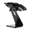 Secure Desktop Stand for Infinea Tab M barcode scanner for iPad mini black colour including device sideways view flipped head - ST-SEC-M-B