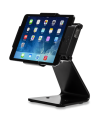 Secure Desktop Stand for Infinea Tab M barcode scanner for iPad mini black colour including device side view horizontal - ST-SEC-M-B