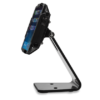 Secure Desktop Stand for Infinea Tab M barcode scanner for iPad mini black colour including device sideways view - ST-SEC-M-B