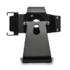 Secure iPad Stand for Infinea Tab M barcode scanner for iPad mini black colour standalone rotated head over to other side - ST-SEC-M-B