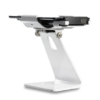 Secure iPad Stand for Infinea Tab M barcode scanner for iPad mini white colour including device rotated flat - ST-SEC-M-W