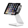 Secure Desktop Stand for Infinea Tab M barcode scanner for iPad mini white colour including device horizontal - ST-SEC-M-W