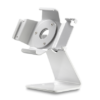 Secure iPad Stand for Infinea Tab M barcode scanner for iPad mini white colour standalone view - ST-SEC-M-W