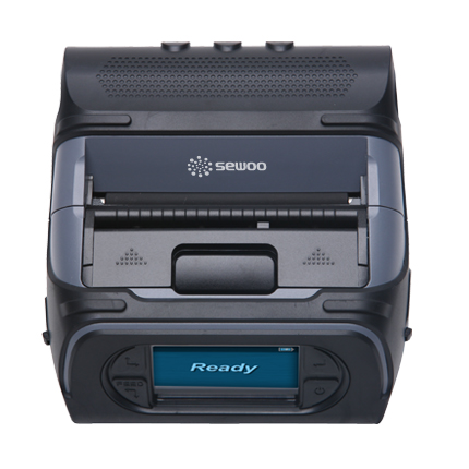 LK-P43SB-IOS-BT Sewoo 4″ Receipt and Label Printer with Bluetooth top view