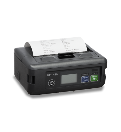 "4"" Infinite Peripherals mobile thermal printer with Bluetooth - DPP-450BT"