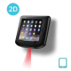 IO-O2D-A-BK Infinea Omni 2D barcode reader for iPad Air wall mountable black colour