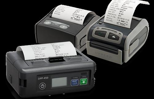 "IPC mobile printers general overview - 2"" printer 3"" printer 4"" printer - receipt and label"