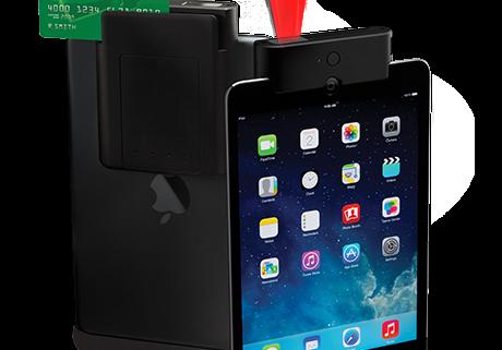 Infinea Tab M barcode and card reader for iPad mini and iPad Air