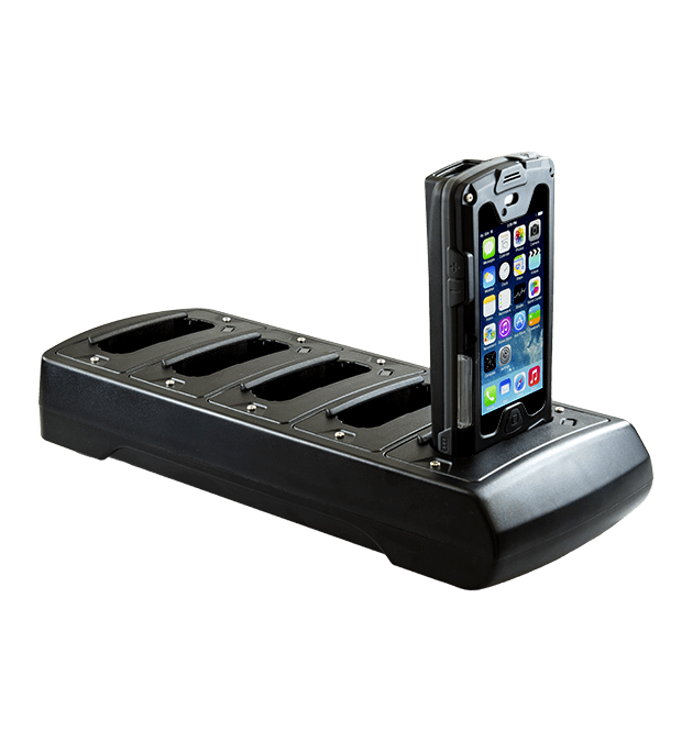 detailed look 203b5 587cd Five Station Charger for Infinea X for iPhone 5/5s (Standard and Extended  Battery) - Black (PSIX5-PH5-BK)
