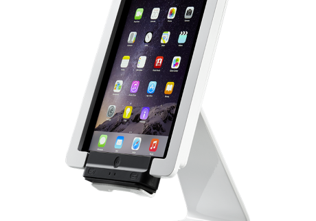 Secure desktop stand for Infinea Tab 4 white