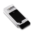Infinea mPOS for iPod Touch 5 and 6 2D Barcode Scanner with ipod half way inserted - BP500-N2DF-POD5