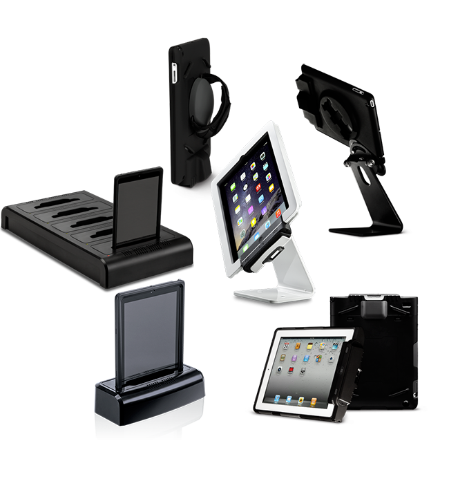 Infinea Tab 4 barcode scanners accessories overview
