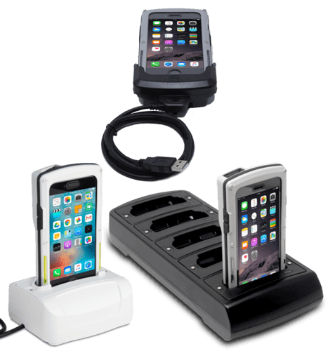 Infinea X7 iPhone 6/6s/7/8 Device Chargers, Charging Cables & Pistol Grips